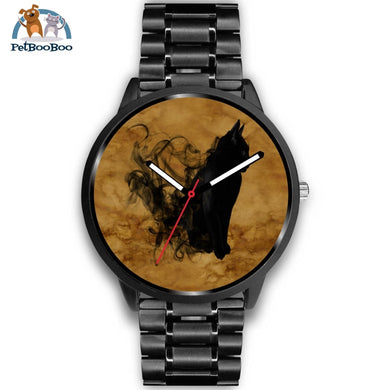 Black Cat Aquarelle Watch Mens 40Mm / Metal Link