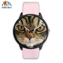 Bli Watch Mens 40Mm / Pink Leather Black