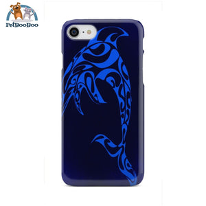 Blue Dolphin Phone Case Iphone 8