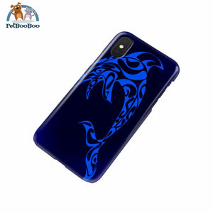 Blue Dolphin Phone Case