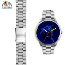 Blue Dolphin Silver Watch