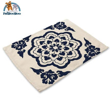 Blue Mandala Table Placemats 1 Placemats