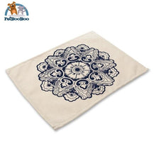 Blue Mandala Table Placemats 9 Placemats