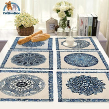 Blue Mandala Table Placemats Placemats