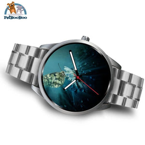 Butterfly Silver Watch