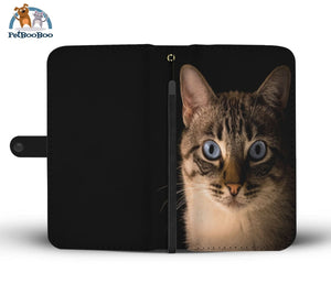 Cat In The Dark Wallet Phone Case Iphone X / Xs
