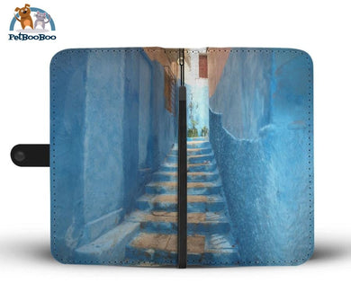 Chefchaouen Morocco Wallet Phone Case** Promo 2/1 Iphone X / Xs Case