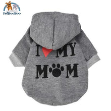 Coat Jacket Hooded For Dogs And Puppies Gray / L United States Dogs