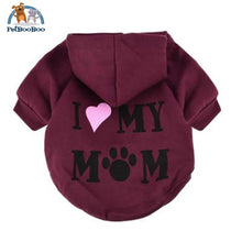 Coat Jacket Hooded For Dogs And Puppies Red / L United States Dogs