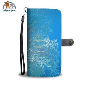 Corals Red Sea Egypt Wallet Phone Case** Promo 2/1 Case