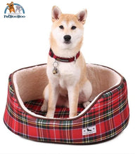 Dog Bed Fashion Plaid Pattern As Picture / L Dogs