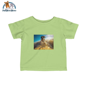 Dog Surfer Infant Fine Jersey Tee Key Lime / 12M Kids Clothes