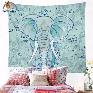 Elephant Tapestry Wall Hanging 002 Tapestry