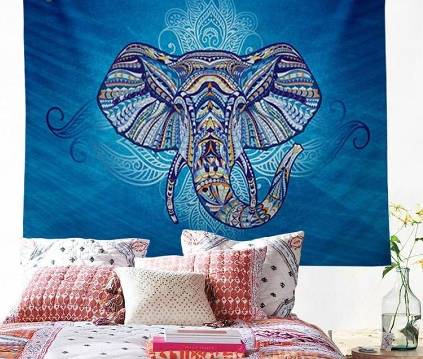 Elephant Tapestry Wall Hanging 003 Tapestry