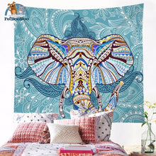 Elephant Tapestry Wall Hanging 004 Tapestry
