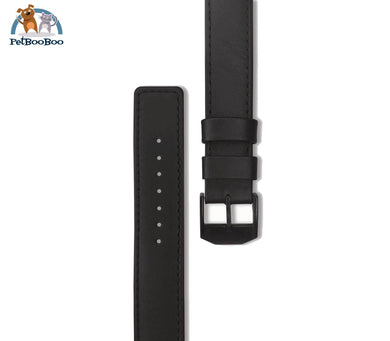 Extra Watch Band Mens 40Mm / Black Leather W/ Hardware