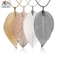 Fashion Leave Necklace Long Chain For Women 200000162