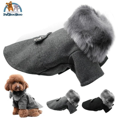 Fashion Winter Wool Jacket For Dogs And Puppies Wool Jacket