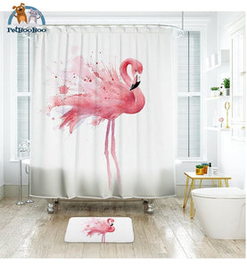 Flamingo Shower Curtain Waterproof 1 / 180X200Cm Curtain Shower