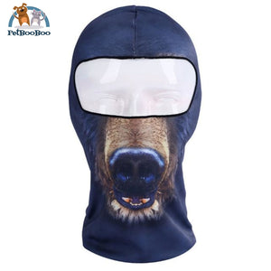 Full Face Mask For Bicycle Bike And Snowboard Bear Face