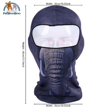 Full Face Mask For Bicycle Bike And Snowboard Elephant Face