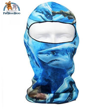 Full Face Mask For Bicycle Bike And Snowboard Ocean Face