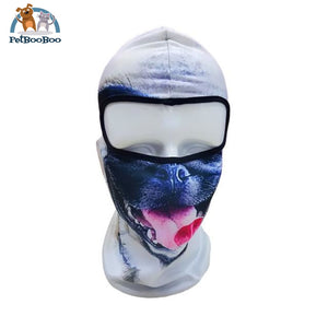 Full Face Mask For Bicycle Bike And Snowboard Pug Face