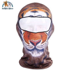 Full Face Mask For Bicycle Bike And Snowboard Tiger Face