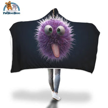 Funny Hooded Blanket Adult 80X55