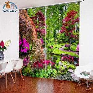 Garden Curtains 2 / W 52Inch X H 84Inch Hook Curtains
