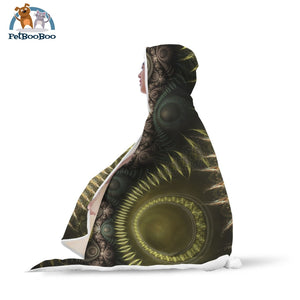 Golden Sun Hooded Blanket