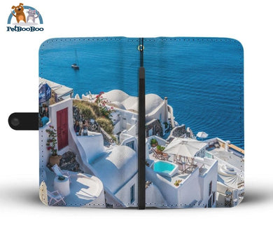 Good Morning Santorini Greece Wallet Phone Case** Promo 2/1 Iphone X / Xs Case