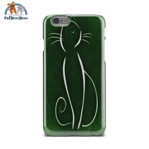 Green Cat Phone Case Iphone 6