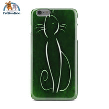 Green Cat Phone Case Iphone 6 Plus