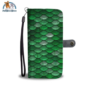Green Mermaid Wallet Phone Case** Promo 2/1 Case