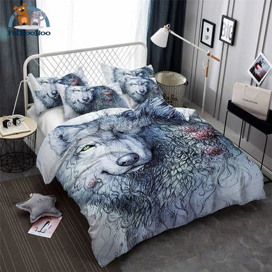 Grey Wolf Bedding Duvet Cover Set Us Twin Duvet Cover