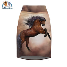 Horse Womens Pencil Skirt Xs All Over Prints