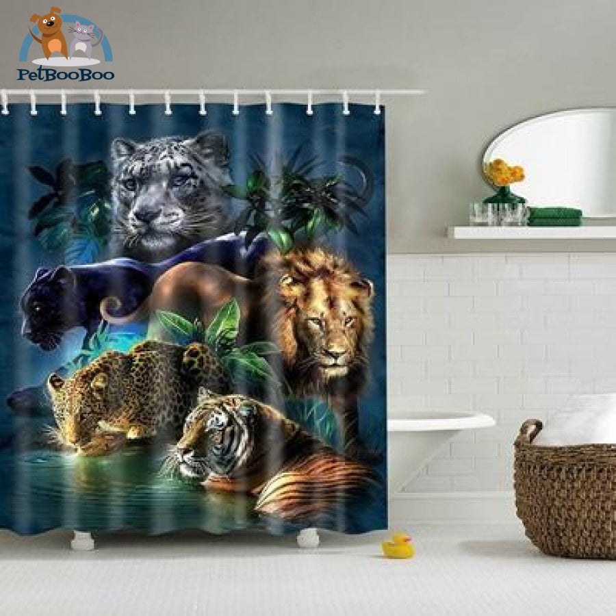 Jaws Shower Curtain Tz161252 / S Shower Curtain