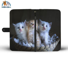 Kittens Wallet Phone Case** Promo 2/1 Iphone X / Xs Case