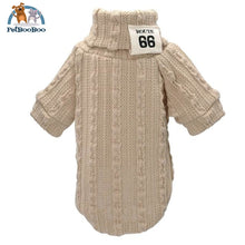 Knit Sweater For Pets Beige / L Sweater