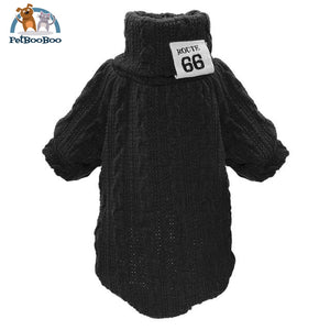 Knit Sweater For Pets Black / L Sweater