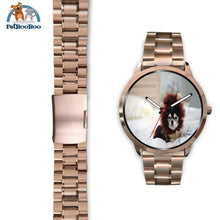Lion Chihuahua Rose Gold Watch