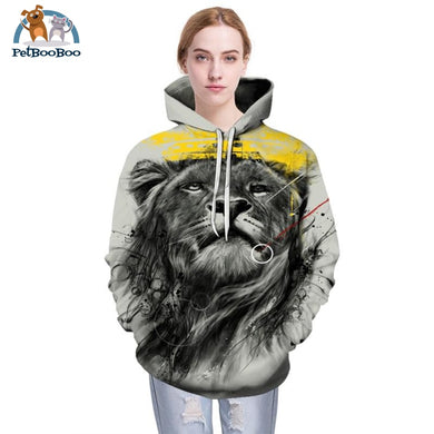 Lion King Printed Hoodie For Men And Women 200000344