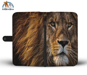 Lion Power Wallet Phone Case Iphone X / Xs