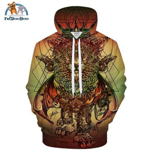 Lion Ras Colors By Jml2 Arts 3D Print Hoodie For Men And Women Lms401 / S 200000344