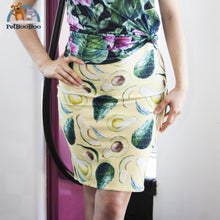Lion Womens Pencil Skirt All Over Prints