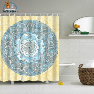 Mandala Shower Curtain Tz161202 / 180X180Cm Shower Curtain