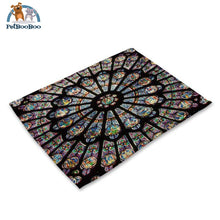 Mandalas Pattern Linen Table Placemats 7 Placemats