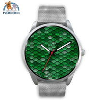 Mermaid Silver Watch Mens 40Mm / Metal Mesh