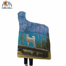 Mountain Dog Hooded Blanket